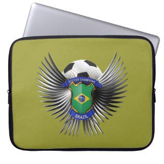 Brazil Soccer Champions Computer Sleeve