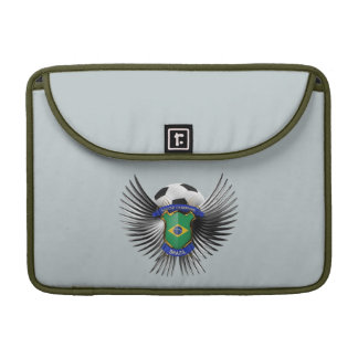 Brazil Soccer Champions Sleeves For MacBook Pro