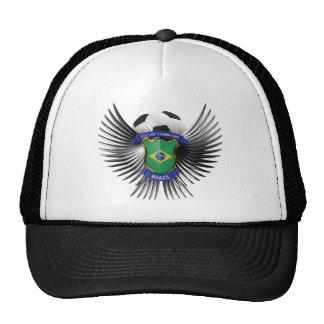 Brazil Soccer Champions Mesh Hats