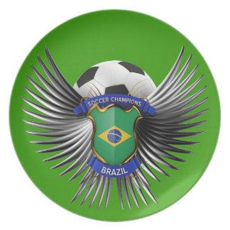 Brazil Soccer Champions Plate