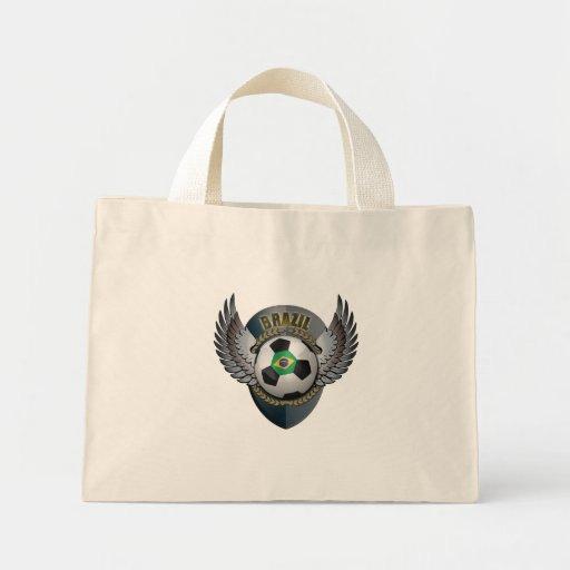 Brazil Soccer Crest Mini Tote Bag