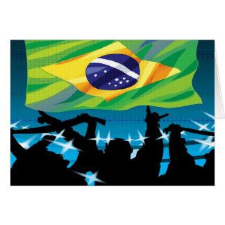 brazil  soccer greeting cards