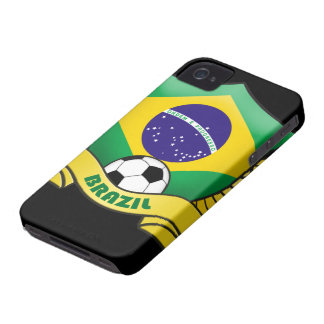 Brazil Soccer iPhone 4/4S Case-Mate Barely There iPhone 4 Case