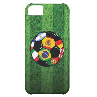 Brazil Soccer iPhone 5C Covers