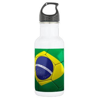 Brazil Soccer 18oz Water Bottle
