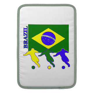 Brazil Soccer Players Sleeve For MacBook Air