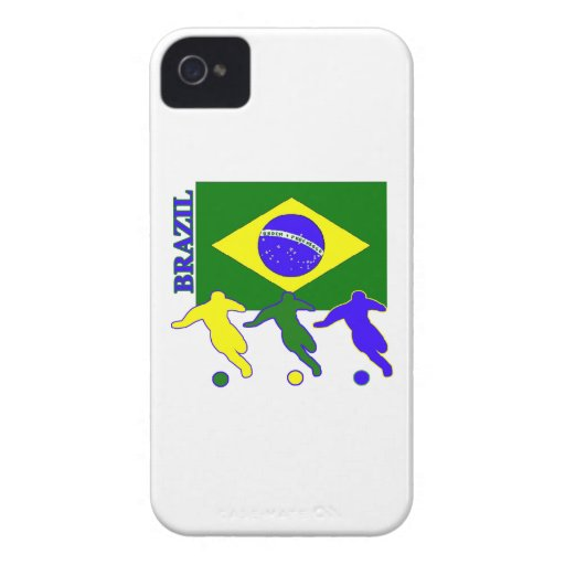 Brazil Soccer Players iPhone 4 Cover