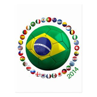 Brazil Soccer Postcards