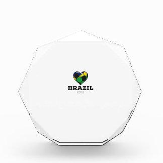 Brazil Soccer Shirt 2016 Acrylic Award
