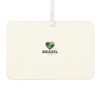 Brazil Soccer Shirt 2016 Car Air Freshener