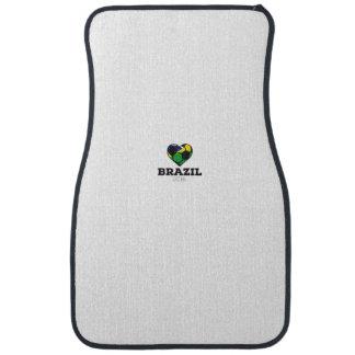 Brazil Soccer Shirt 2016 Car Mat