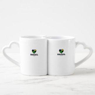 Brazil Soccer Shirt 2016 Couples Coffee Mug