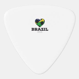 Brazil Soccer Shirt 2016 Guitar Pick