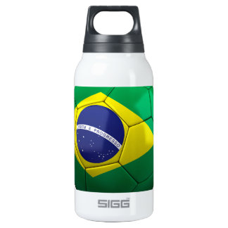 Brazil Soccer 10 Oz Insulated SIGG Thermos Water Bottle