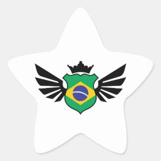 Brazil soccer star sticker