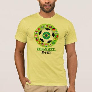 Brazil Soccer T-Shirt World Cup Quarterfinals