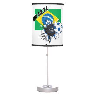brazil soccer team table lamps. Black Bedroom Furniture Sets. Home Design Ideas