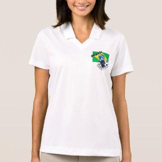 Brazil Soccer Team Polo Shirt