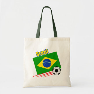 Brazil Soccer Team Tote Bag