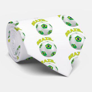 Brazil Soccer Tie