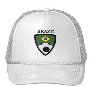 Brazil Soccer Trucker Hat