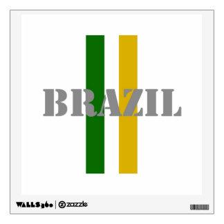 Brazil Soccer Wall Sticker