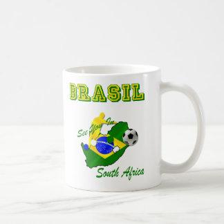 Brazil South Africa Qualifies Brasil T Coffee Mug