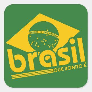Brazil Square Sticker