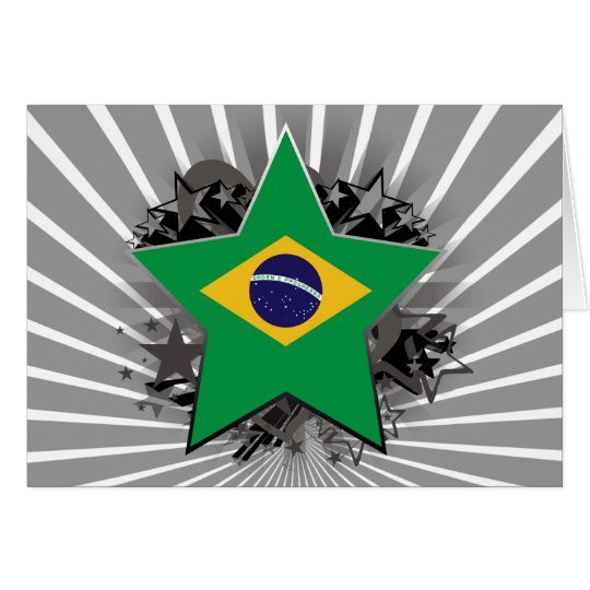 Brazil Star Card