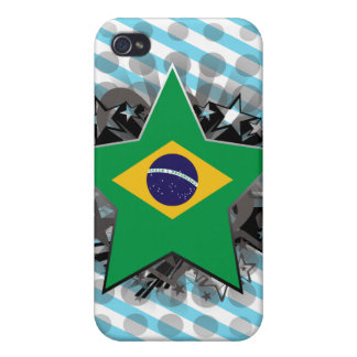 Brazil Star iPhone 4/4S Cases