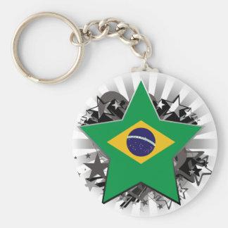 Brazil Star Key Chain