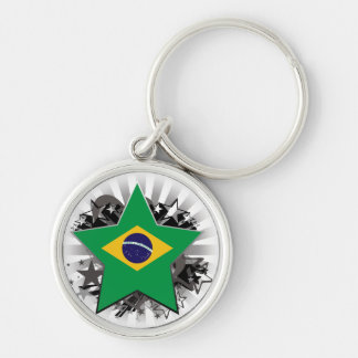Brazil Star Key Chains