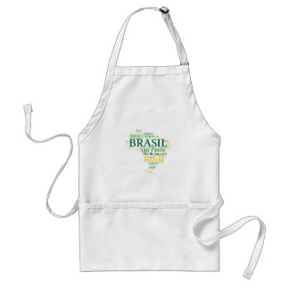 Brazil States and Capitals Aprons