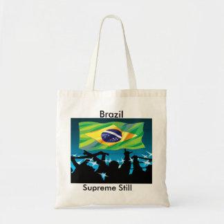 brazil supreme still soccer canvas bag