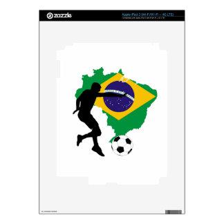 Brazil T-Shirts Skin For iPad 3