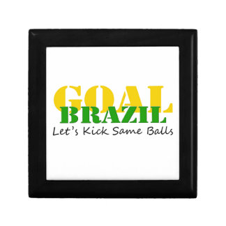 Brazil - Talk Let s Kick Some Balls Trinket Box