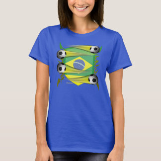Brazil Tribal Shield Ladies ComfortSoft Tee