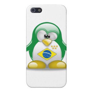 Brazil Tux Cases For iPhone 5