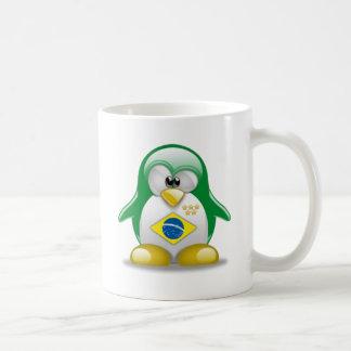 Brazil Tux Mugs