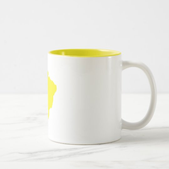 Brazil Two-Tone Coffee Mug
