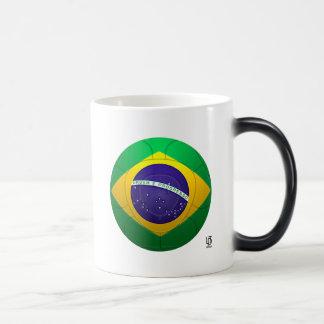 Brazil - Verde Amarela Football Magic Mug