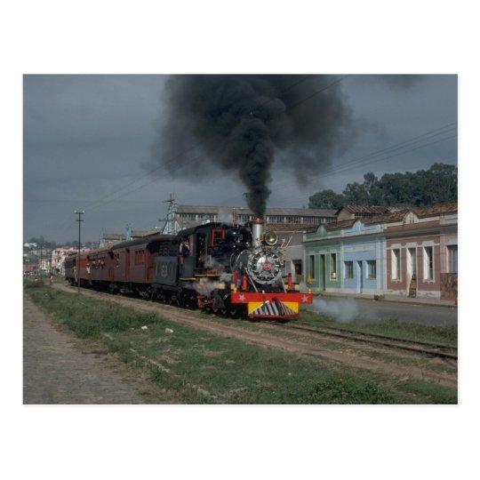 Brazil, VFCO narrow gauge 2-8-0 Postcard