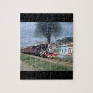 Brazil, VFCO narrow gauge_Trains of the World Jigsaw Puzzle