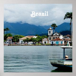 Brazil Village Poster