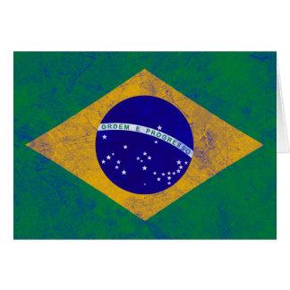 Brazil Vintage Flag Cards