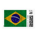 Brazil Vintage Flag Postage Stamps