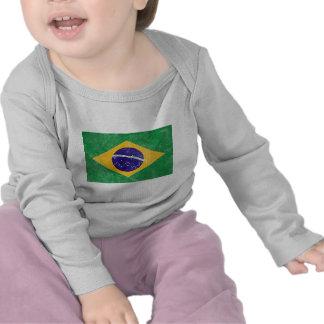 Brazil Vintage Flag Tshirt