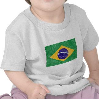 Brazil Vintage Flag Tshirts