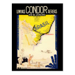"""Brazil"" Vintage Travel Postcard"