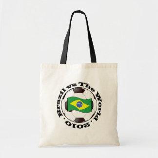 Brazil vs The World Tote Bags